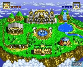 Image in-game du jeu Angelique Special sur NEC PC-FX