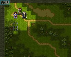 Image in-game du jeu Farland Story FX sur NEC PC-FX