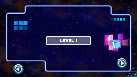 Image du menu du jeu Spaceball Revolution sur Sony PSP