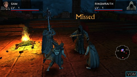 Image in-game du jeu Lord of the Rings, The - Tactics sur Sony PSP