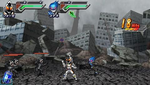 All Kamen Rider - Rider Generation 2