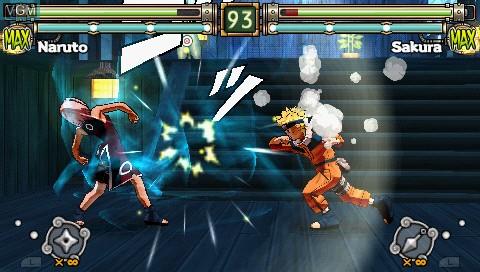 Naruto - Ultimate Ninja Heroes 2 - The Phantom Fortress
