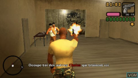 Image in-game du jeu Grand Theft Auto Vice City Stories + Midnight Club 3 DUB Edition sur Sony PSP