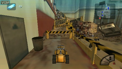 Image in-game du jeu Double Pack - Cars + WALL-E sur Sony PSP