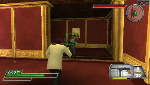 Image in-game du jeu 007 - From Russia with Love sur Sony PSP