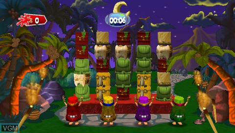 Image in-game du jeu 101 in 1 Megamix sur Sony PSP