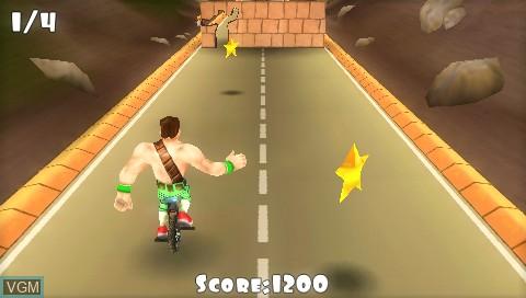 Image in-game du jeu 3 2 1 - Supercrash! sur Sony PSP