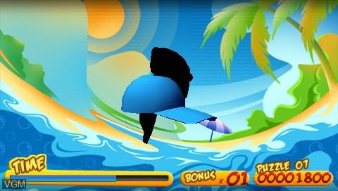 Image in-game du jeu 3D Twist & Match sur Sony PSP