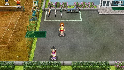 Image in-game du jeu Everybody's Tennis sur Sony PSP