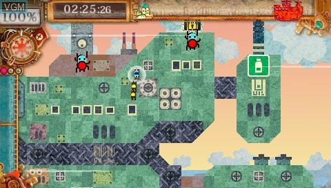 Image in-game du jeu Patchwork Heroes sur Sony PSP