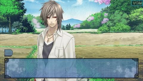 Image in-game du jeu Soukoku no Kusabi - Hiiro no Kakera 3 Twin Pack sur Sony PSP