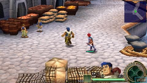 Image in-game du jeu Ys Super Price Set sur Sony PSP