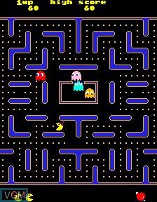 Image in-game du jeu Jr. Pac-Man 4000 Plus sur PacMAME