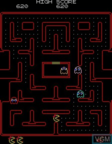 Ms. Pac-Man Plus / Attack After Dark