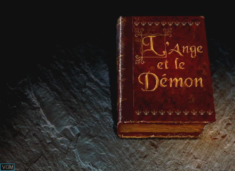 Image de l'ecran titre du jeu L'Ange et le Demon sur Philips CDI