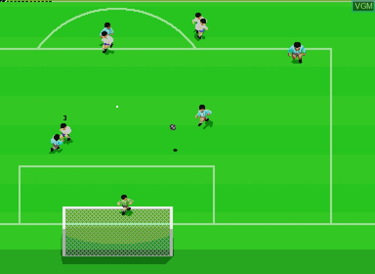 Image in-game du jeu Striker Pro sur Philips CDI