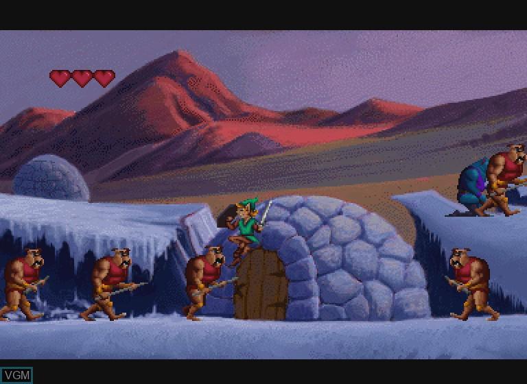 Image in-game du jeu Link - Faces of Evil sur Philips CDI