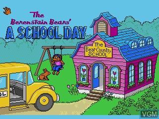 Image de l'ecran titre du jeu Berenstain Bears, The - A School Day sur Sega Pico