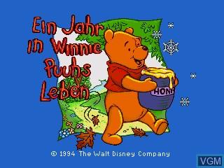 Image de l'ecran titre du jeu Ein Jahr in Winnie Puuhs Leben sur Sega Pico