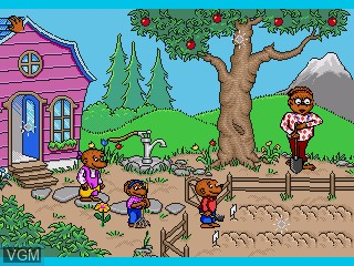 Image du menu du jeu Berenstain Bears, The - A School Day sur Sega Pico