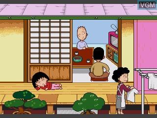 Image du menu du jeu Chibi Maruko-chan - Issho ni Asobou Yo sur Sega Pico
