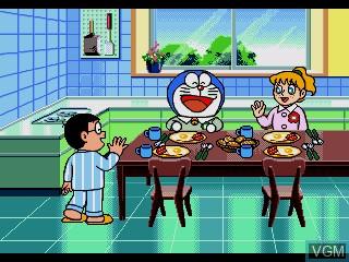 Image du menu du jeu Doraemon Eigo de Asobou ABC sur Sega Pico