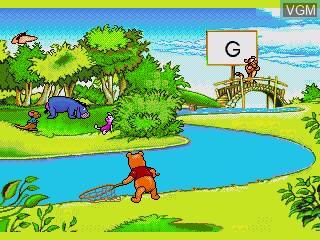 Image in-game du jeu A Year at Pooh Corner sur Sega Pico