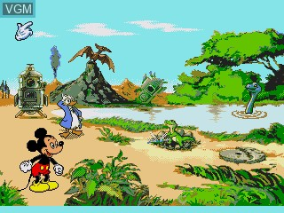 Mickey's Blast into the Past