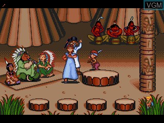 Image in-game du jeu Peter Pan - Neverland e Ikou! sur Sega Pico