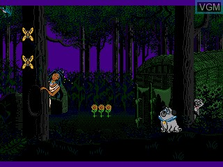 Image in-game du jeu Pocahontas sur Sega Pico