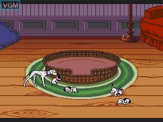 Image in-game du jeu 101-piki Wan-chan - Wan-chan Daikoushin! sur Sega Pico