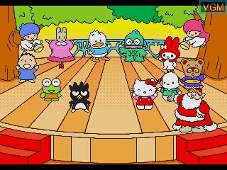 Image in-game du jeu Ai to Yume no Kuni Sanrio Puroland - Chanto Dekiru Kana Minna to Tanoshii Oyuugikai sur Sega Pico