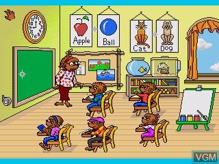 Image in-game du jeu Berenstain Bears, The - A School Day sur Sega Pico