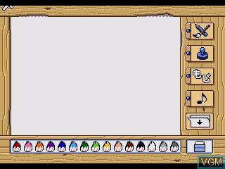 Image in-game du jeu Donald no TV Show sur Sega Pico