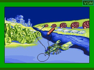 Image in-game du jeu Ecco Jr. and the Great Ocean Treasure Hunt! sur Sega Pico