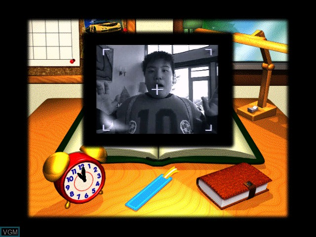 Image du menu du jeu Zukkoke Sanningumi -Drama Satsujinjiken- sur Apple Pippin