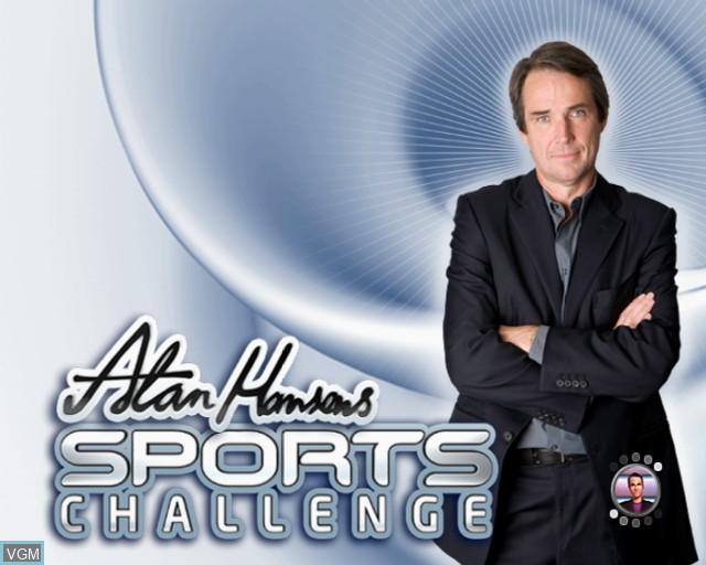 Image de l'ecran titre du jeu Alan Hansen's Sports Challenge sur Sony Playstation 2