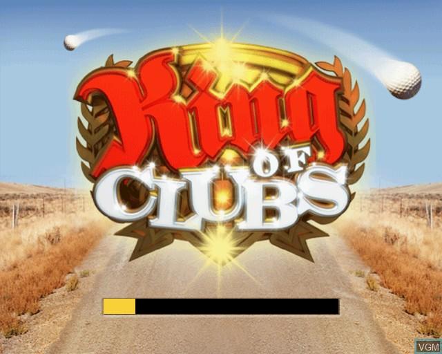 Image de l'ecran titre du jeu King of Clubs sur Sony Playstation 2