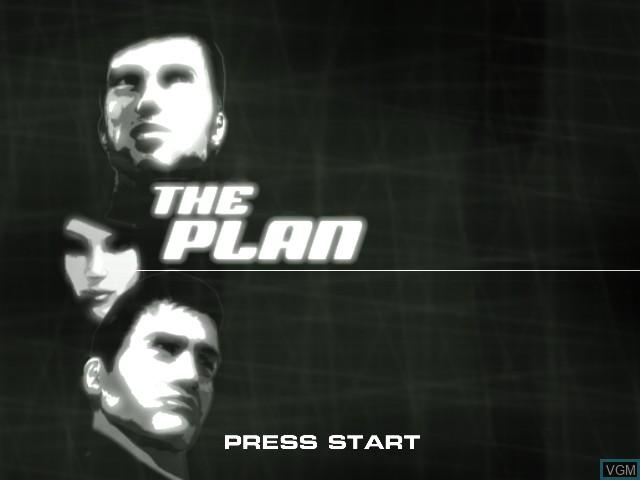 Image de l'ecran titre du jeu Plan, The sur Sony Playstation 2