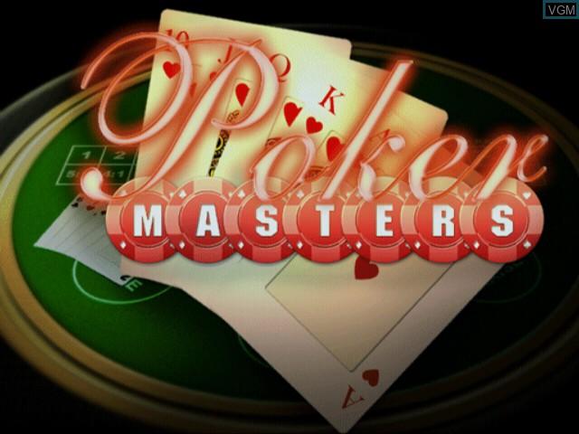 Image de l'ecran titre du jeu Poker Masters sur Sony Playstation 2
