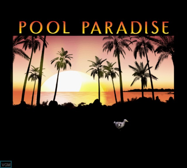 Image de l'ecran titre du jeu Pool Paradise - International Edition sur Sony Playstation 2