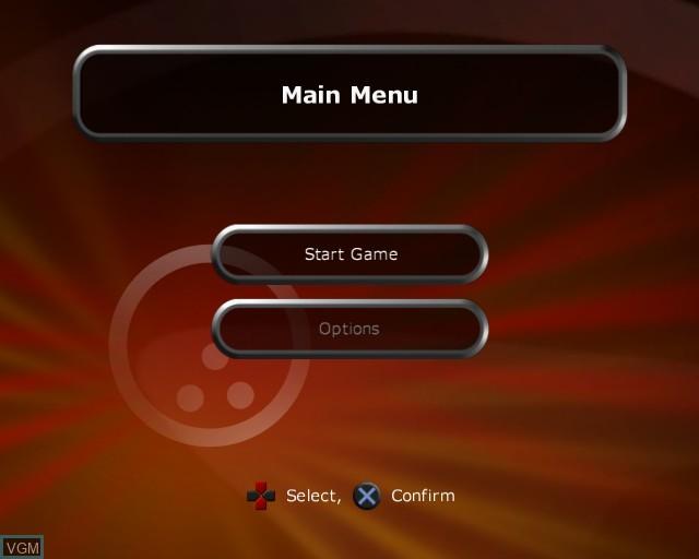 Image du menu du jeu Alan Hansen's Sports Challenge sur Sony Playstation 2