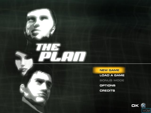 Image du menu du jeu Plan, The sur Sony Playstation 2