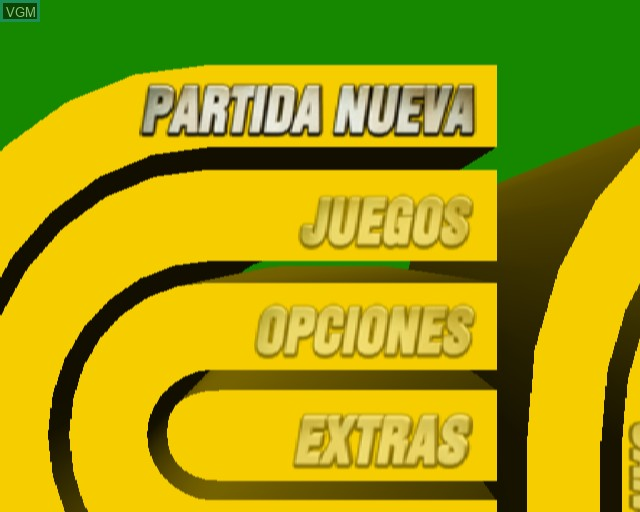 Image du menu du jeu !Que Pasa Neng! sur Sony Playstation 2