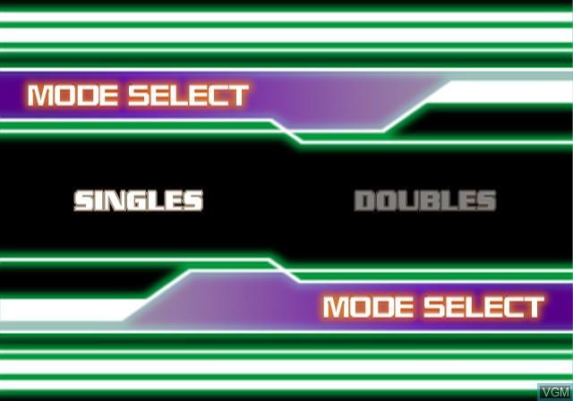 Image du menu du jeu Simple 2000 Series Ultimate Vol. 1 - Love * Smash! sur Sony Playstation 2