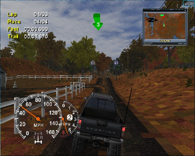 Image in-game du jeu 4X4 EVO 2 sur Sony Playstation 2