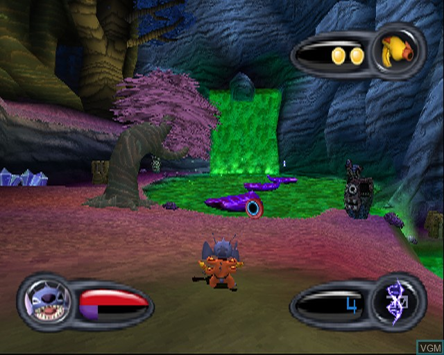 Image in-game du jeu Stitch - Experiment 626 sur Sony Playstation 2