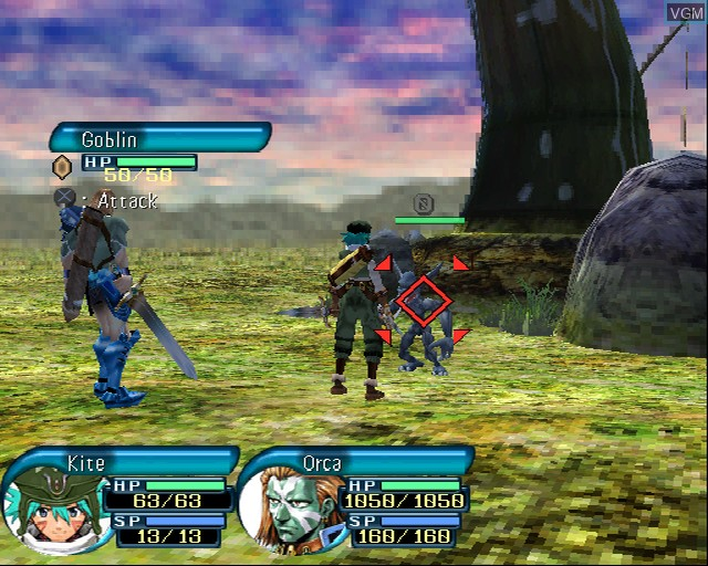 Image in-game du jeu .hack//Infection Part 1 sur Sony Playstation 2