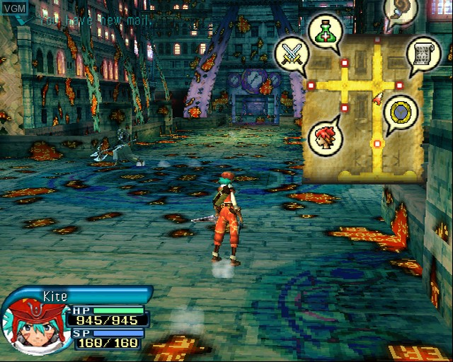 Image in-game du jeu .hack//Outbreak Part 3 sur Sony Playstation 2