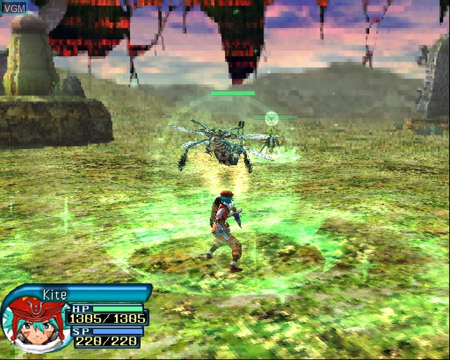 Image in-game du jeu .hack//Quarantine Part 4 sur Sony Playstation 2